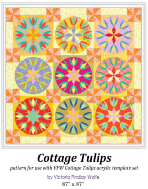 Cottage Tulips Templates en Patroon